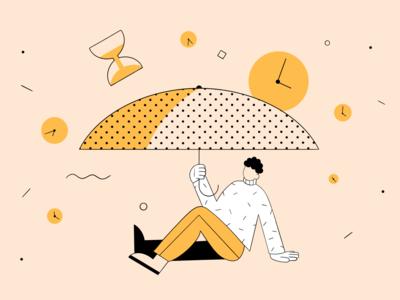Illustration pack for Ukrainian invest platform