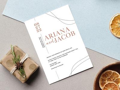 Wedding Invitation Sample 1