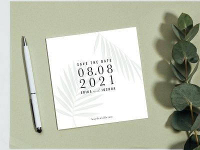 Save The Date Sample 1