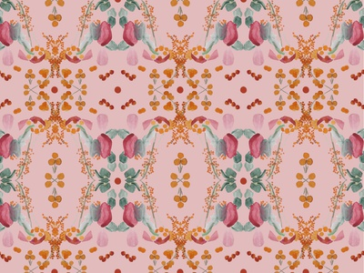 symmetrical pattern wallaper design wallpaper pattern pattern art pattern design pattern a day flower illustration botanical illustration botanical contrast digital art illustration drawing