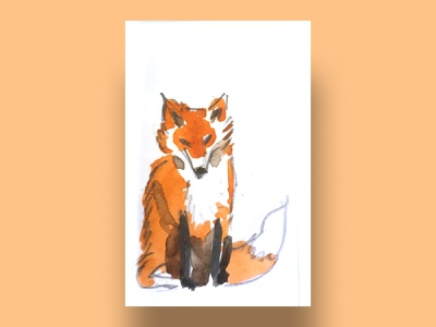 fox children illustration children child cards for kids cards ui cards animals illustrated orange foxes fox illustration fox tail fox animals forest animals forest contrast digital illustration digital art illustration drawing