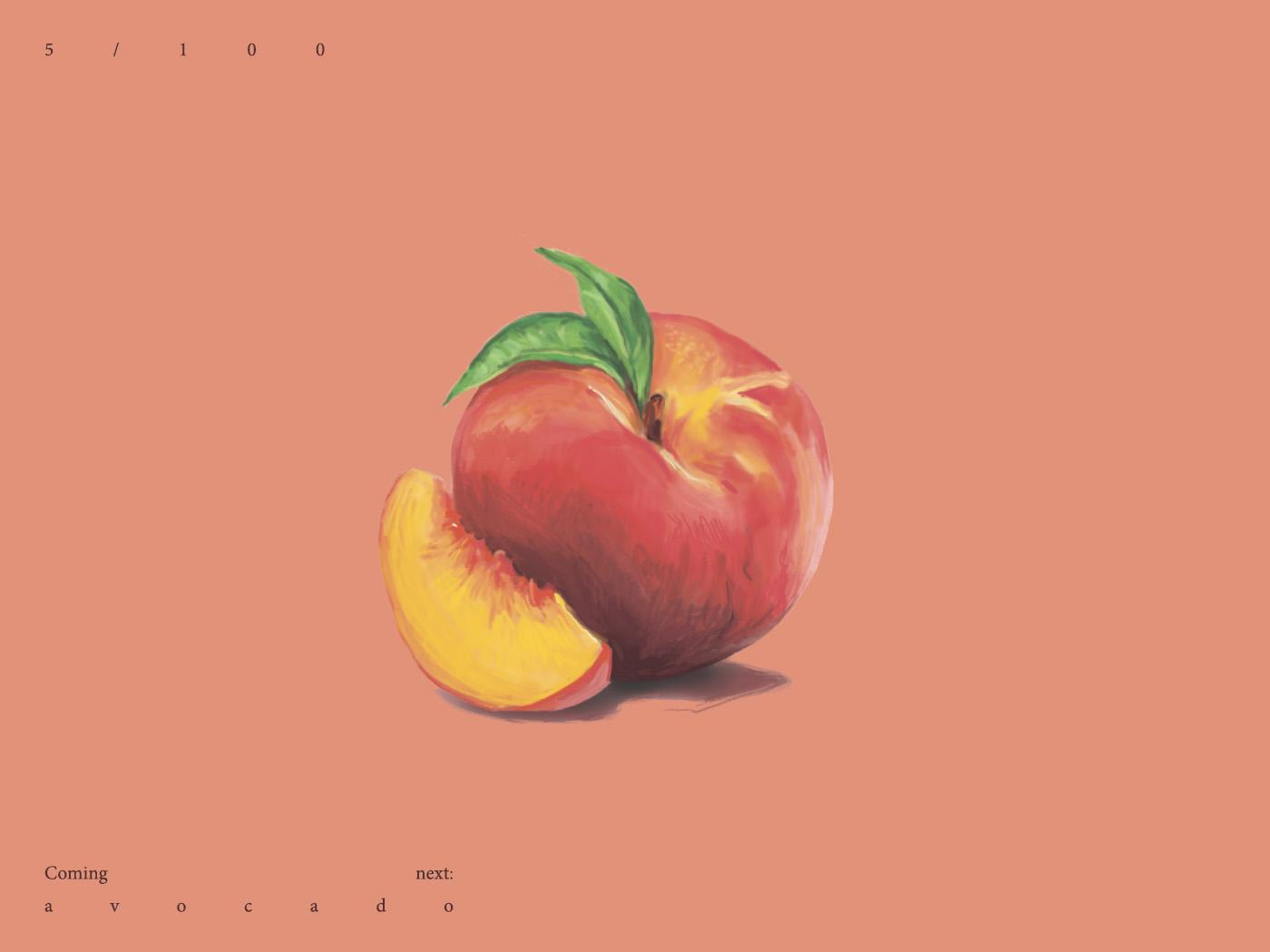 Peach peachy peach fruits fruit photoshop digital drawing contrast design digital illustration vector illustration drawing digital art