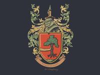 Irish Family Crest Design