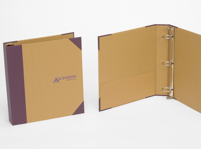Recycled Materials Binder by Sneller sneller creative promotional packaging promotion presentation packaging packaging marketing made in usa custom packaging branding advertising