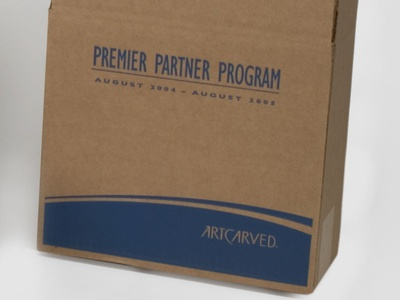 ARTCARVED Custom Shipper Boxes by Sneller sneller creative promotions promotional packaging promotion presentation packaging packaging marketing made in usa custom packaging branding advertising