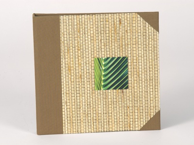 Handmade Bamboo Guest Directory Binder by Sneller sneller creative promotions promotional packaging promotion presentation packaging packaging marketing made in usa custom packaging branding advertising