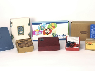 Corrugated Promo Boxes by Sneller sneller creative promotions promotional packaging promotion presentation packaging packaging marketing made in usa custom packaging branding advertising