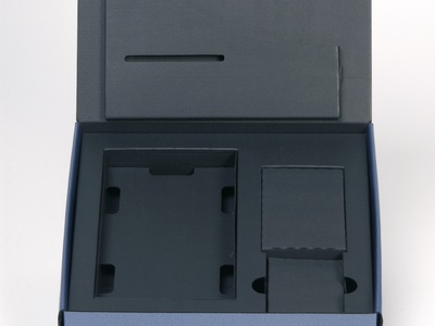 Triple Black Corrugated Boxes by Sneller sneller creative promotions promotional packaging promotion presentation packaging packaging marketing made in usa custom packaging branding advertising