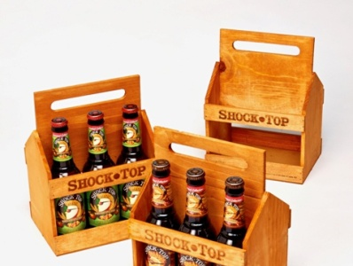 Sneller Creative Shock Top 6 Pack Caddy  Product Launch Kit
