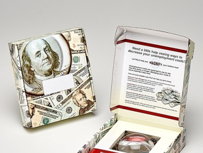 Sneller Creative - TALX Custom Paperweight Marketing Kit
