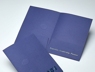 Sneller Creative Promotions - Impact Custom Pocket Folder