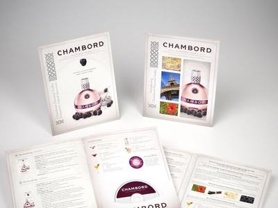 Chambord Vodka Marketing Collateral by Sneller