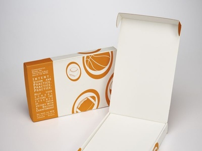 Commemorative Brands Custom Printed Box by Sneller