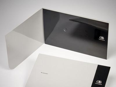 OB Custom Marketing Envelope Folder by Sneller