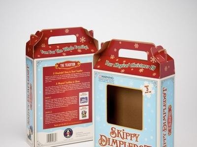 Skippy Dimpledot Custom Retail Packaging by Sneller