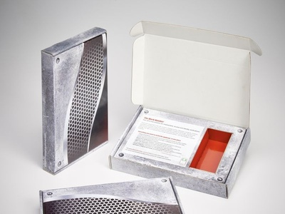 The Work Number Custom Marketing Mailer Boxes by Sneller