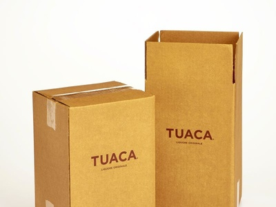 TUACA Custom RSC Shipper Boxes by Sneller