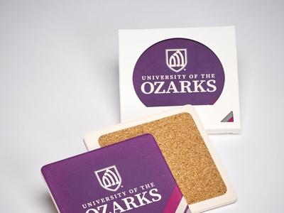 University of the Ozarks Custom Coasters by Sneller