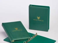 Westwood CC Custom Membership Binders by Sneller
