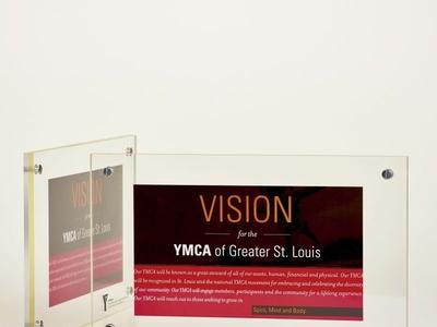 YMCA Custom Plaque by Sneller