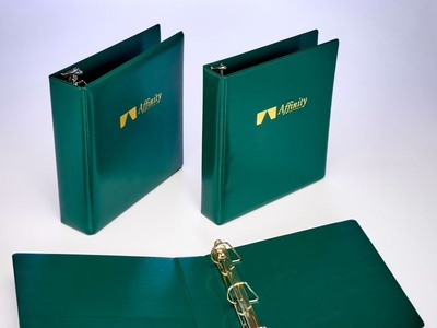 Affinity Custom Ring Binders by Sneller