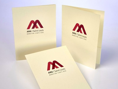 American Marketing Association Custom Pocket Folders by Sneller