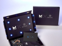 Mission Wade Light Up Marketing Box by Sneller