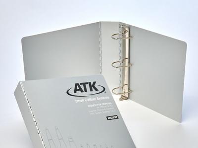 ATK Binders Custom Aluminum Binders by Sneller