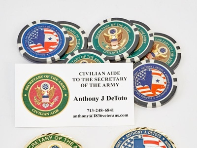 Custom Coins  Poker Chips   Business Cards by Sneller