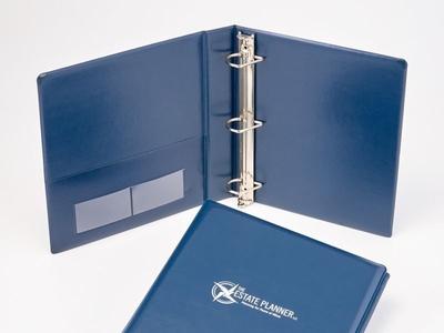 Custom Estate Plan Binder by Sneller