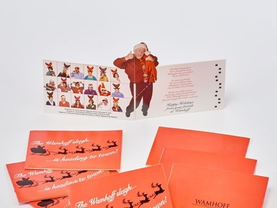 Custom Pop Up Santa Direct Mail by Sneller