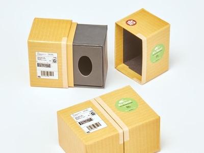 Custom Pull Apart Boxes by Sneller  candy dispenser