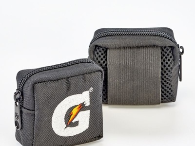 Custom Sewn   Embroidered Zipper Pouch by Sneller
