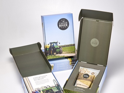 Custom Corrugated Product Launch Kit by Sneller