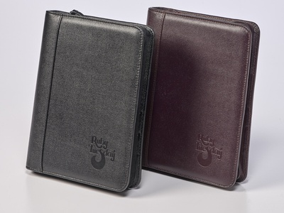 Custom Leather Planners by Sneller