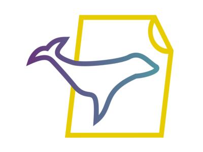Sealpage Logo minimal sealpage branding illustration vector sealious seal logo flat