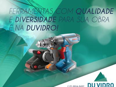 Publicidade para empresa Duvidro.