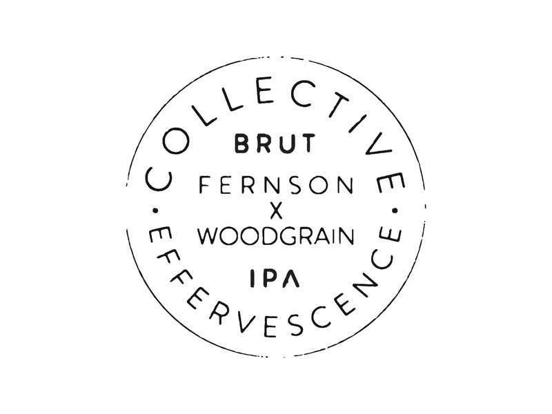 Collective Effervescence ipa brute collaboration collab beer brewer brewery woodgrain fernson south dakota sioux falls