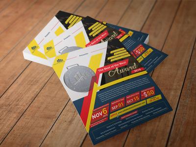 Award Programme Flyer