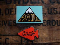 Steel Bison Sticker Pack 2 - Explore