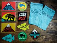 West Sticker Pack