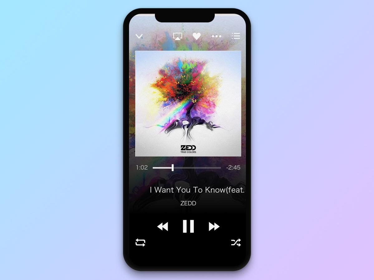 #009 Music Player | Daily UI daily ui