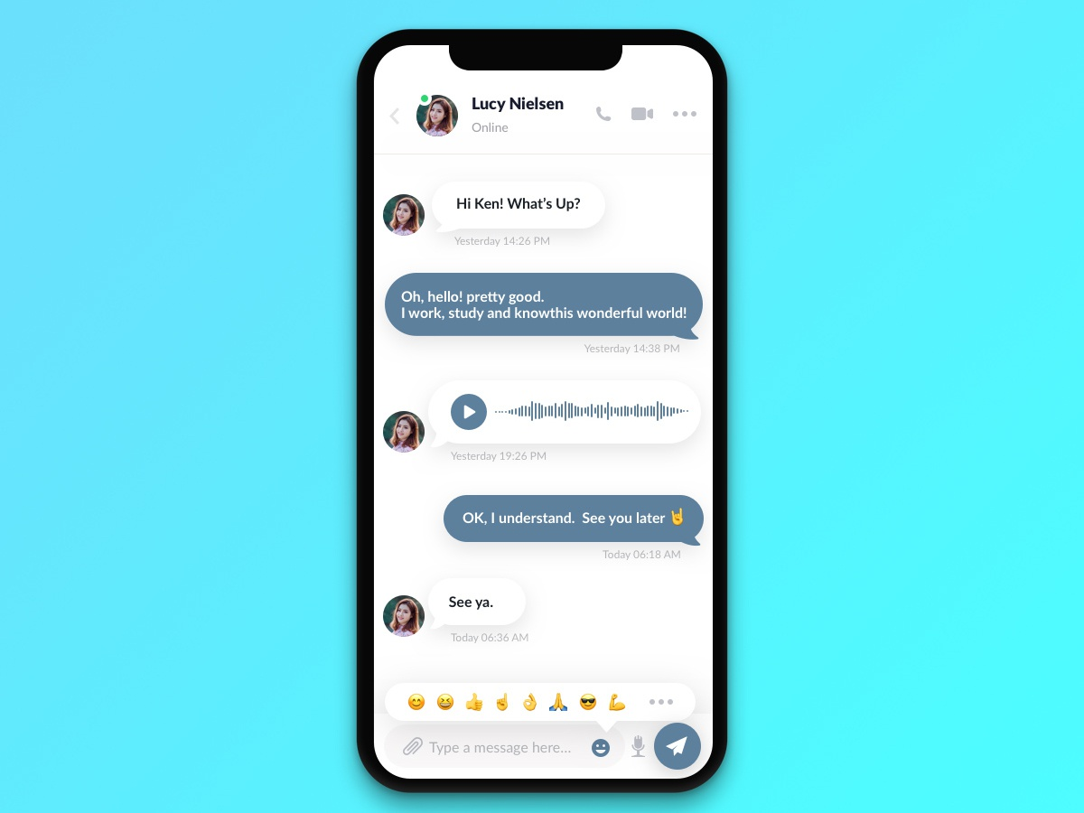 #013 Direct Messaging   Daily UI daily ui
