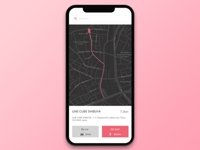 #020 Location Tracker | Daily UI