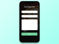 #028 Contact Us | Daily UI