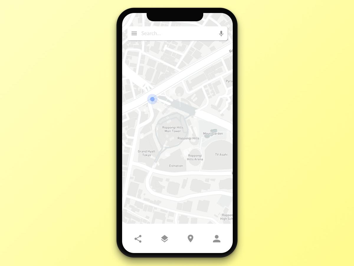 #029 Map   Daily UI daily ui
