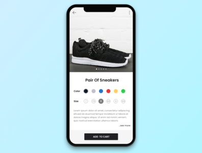 #032 Customize Product | Daily UI