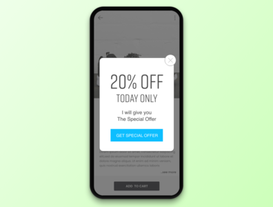 #036 Special Offer | Daily UI