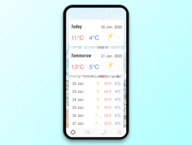 #037 Weather | Daily UI
