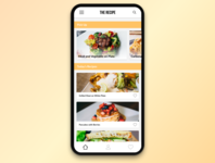 #040 Recipe | Daily UI